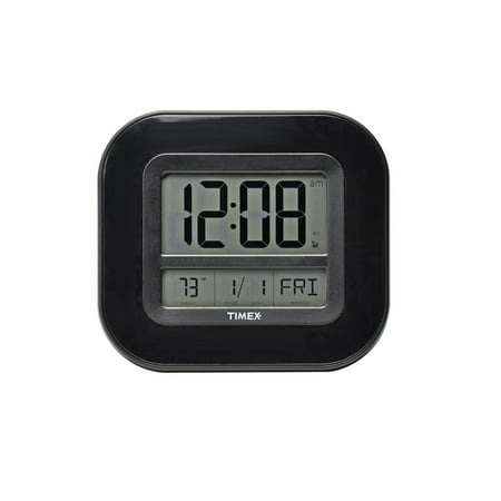 9 Inch Timex Digital Atomic Clock With Temperature And Date