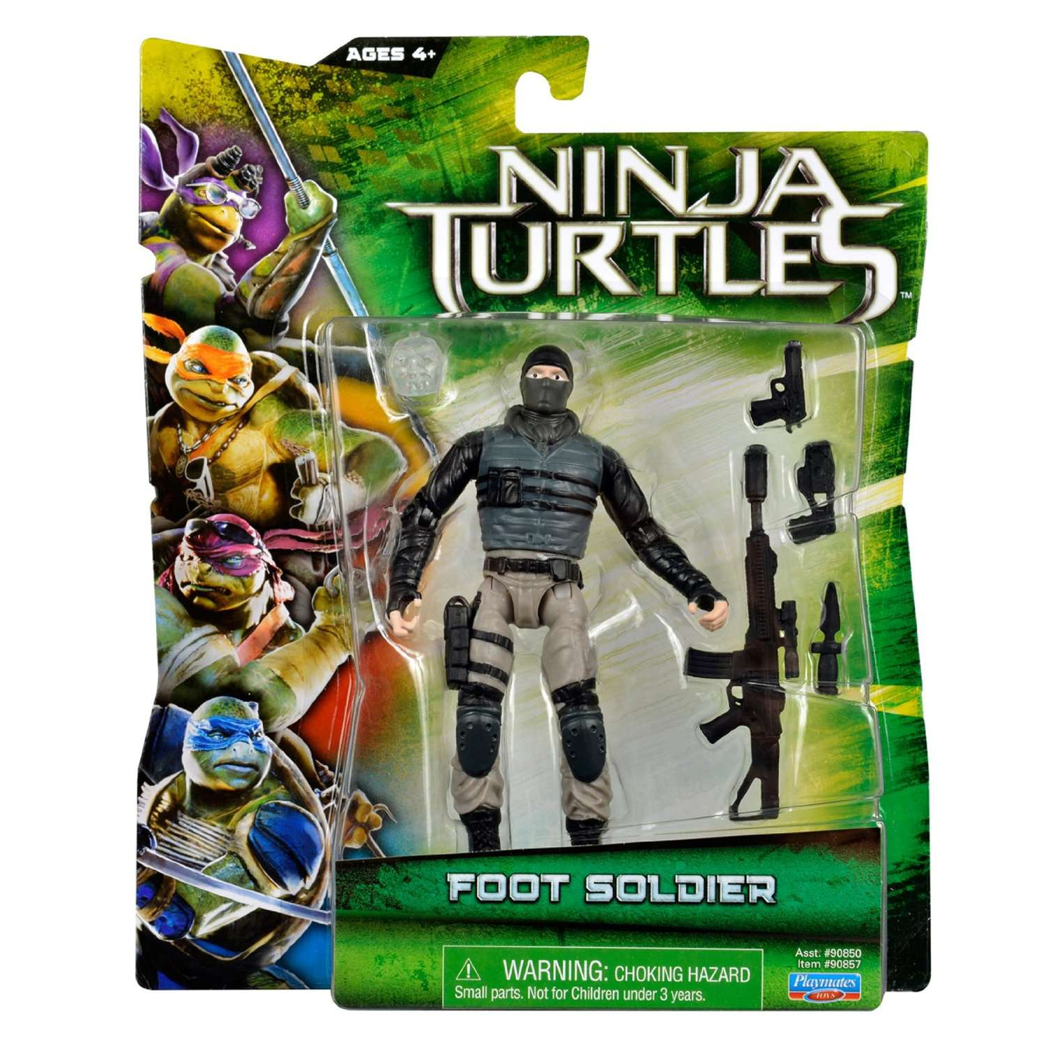 Teenage Mutant Ninja Turtles Movie Foot Soldier Action Figure