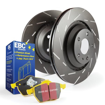 88 Brake Rotors - EBC Brakes S9KF1487 S9 Kits Yellowstuff and USR Rotors Fits 88 Bonneville LSS