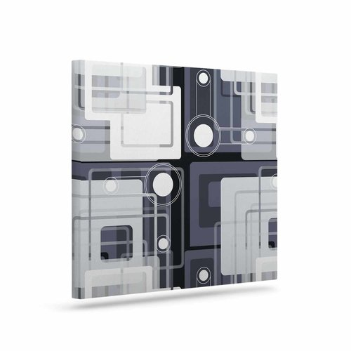 East Urban Home 'Art Deco' Graphic Art Print on Canvas