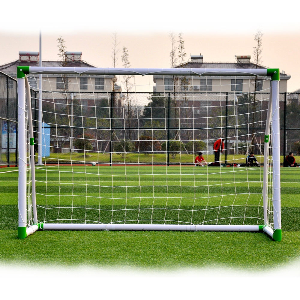 Zimtown 6' x 4' Soccer Goal Anchors Foootball Training Set with Net Straps for Indoor / Outdoor Garden Backyard, Kids Youth Sports - image 3 of 5