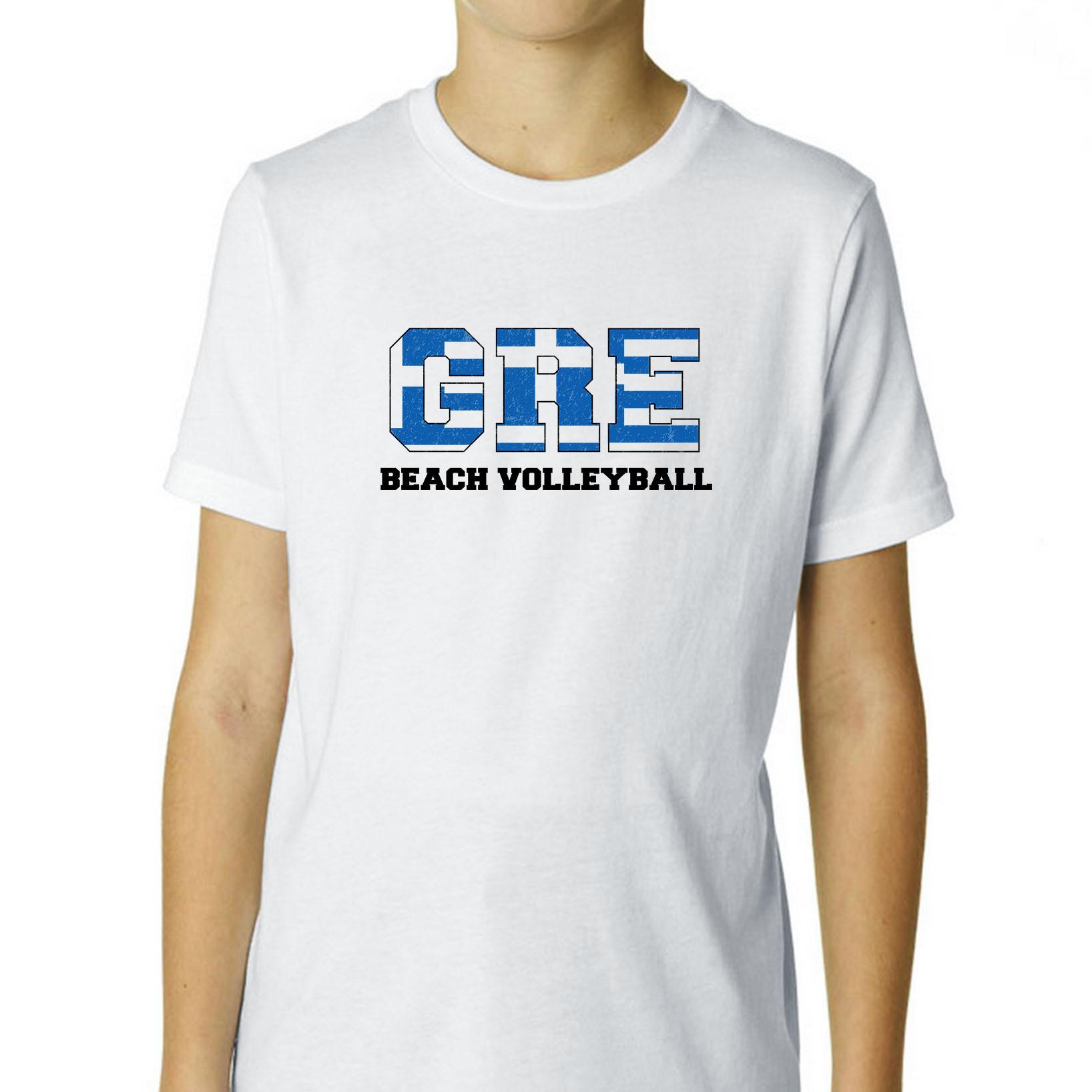Greece Beach Volleyball - Olympic Games - Rio - Flag Boy'...