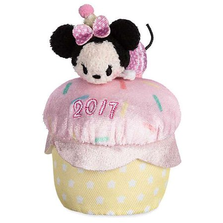 Disney Mickey & Friends Minnie Mouse Birthday Cupcake 2017 Mini Plush (Mini Mouse Birthday)