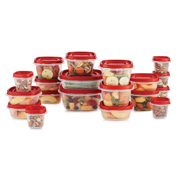 Rubbermaid Rubbermaid 38 Piece Efl Red Food Storage Set