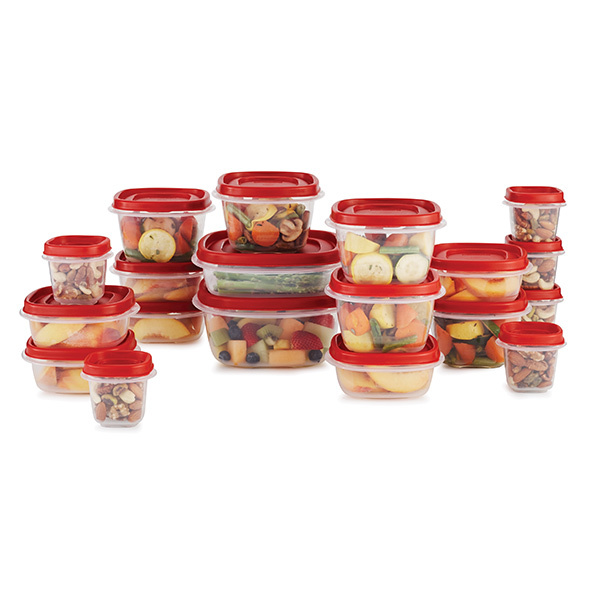 Rubbermaid Rubbermaid 38 Piece Efl Red Food Storage Set