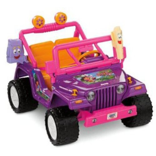 Jeep Wrangler 7 Seater Price >> Fisher-Price Power Wheels Dora Jeep Wrangler - Walmart.com