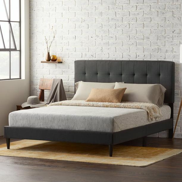 Rest Haven Upholstered Nbsp Platform Nbsp Bed Frame With Nbsp