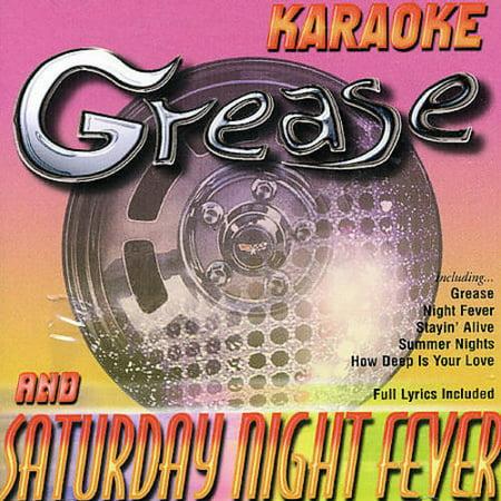 GREASE & SATURDAY NIGHT FEVER KARAOKE [724352290529]