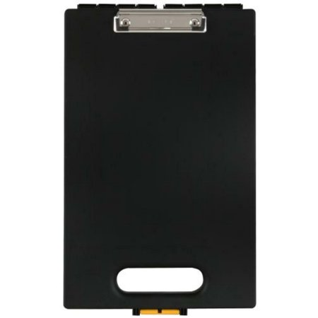 Dexas Office Clipcase Storage Clipboard, Black, New, Free Shipping (Dexas Clipboard Storage)