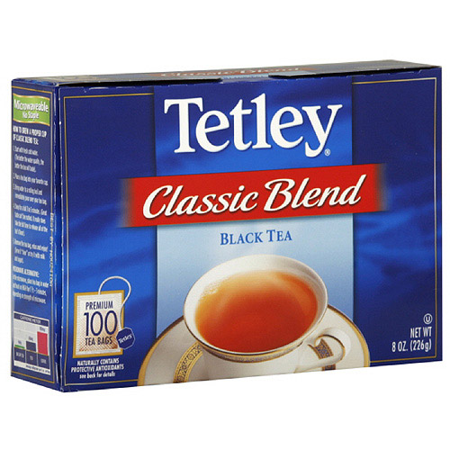 Tetley Black Tea, 8 oz (Pack of 12)