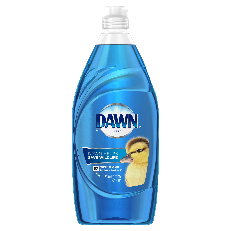 Dawn Ultra Dishwashing Liquid Dish Soap Original Scent 19.4 oz