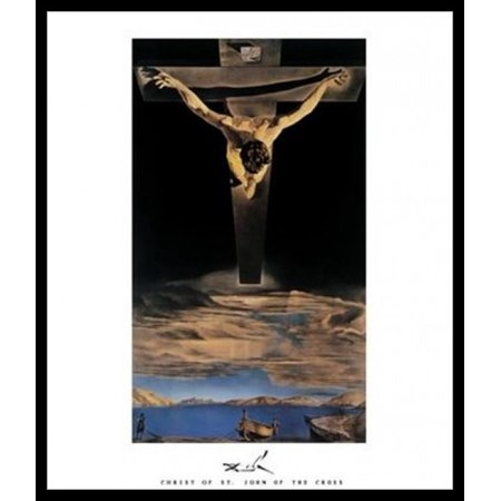 Christ of St John of the Cross c1951 Poster Poster Print by Salvador