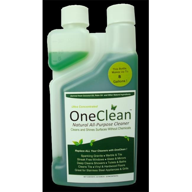 Healthier Sciences OC-16C OneClean All Natural Purpose Concentrate Power Cleaner , 16 oz - Case of 6