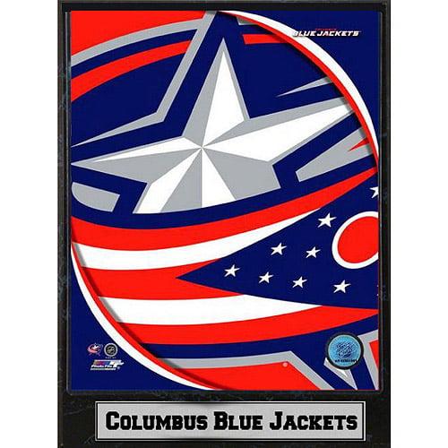 NHL Columbus Blue Jackets Photo Plaque, 9x12