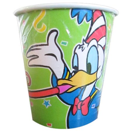 Mickey Mouse 'Mickey's Birthday Bash' Donald and Daisy 7oz Paper Cups - Donald And Daisy