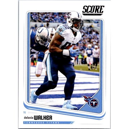 Football Herschel Walker - 2018 Score #318 Delanie Walker Tennessee Titans Football Card