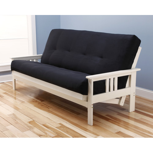 Kodiak Furniture Monterey Suede Futon and Mattress