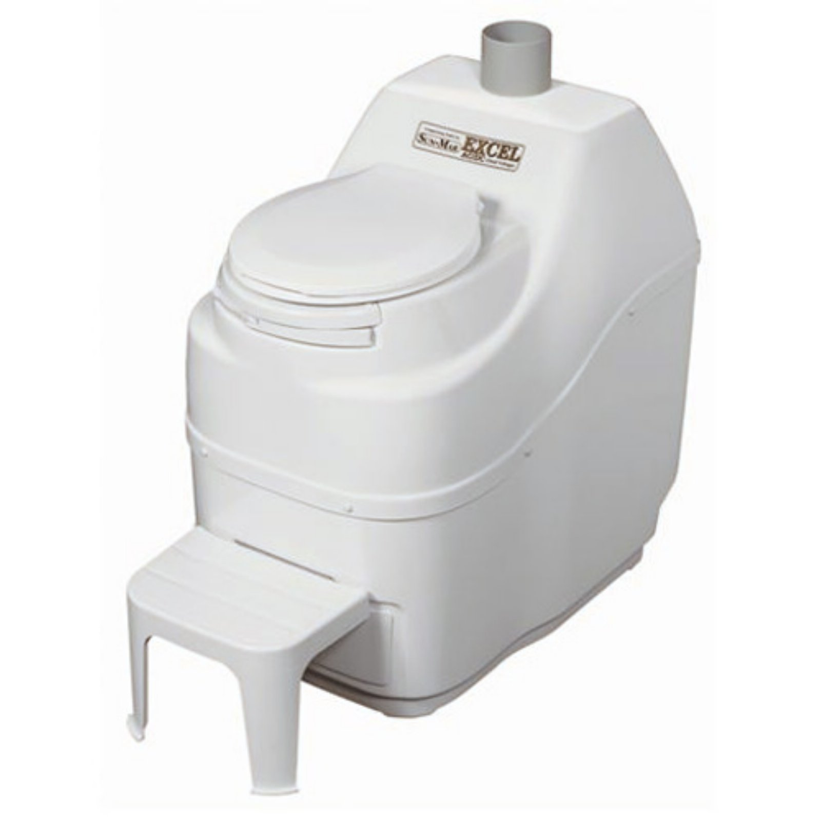 Click here to buy Sun-Mar Excel Non-Electric Waterless Composting Toilet by Sun-Mar Corp..
