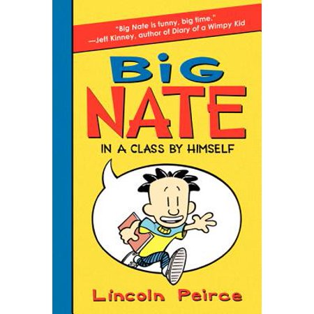 Big Nate: In a Class by Himself (Paperback) - Halloween Class Book Ideas