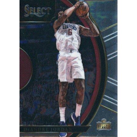 2017-18 Panini Select #59 DeAndre Jordan Los Angeles Clippers Basketball - Jordan Basketball Apparel