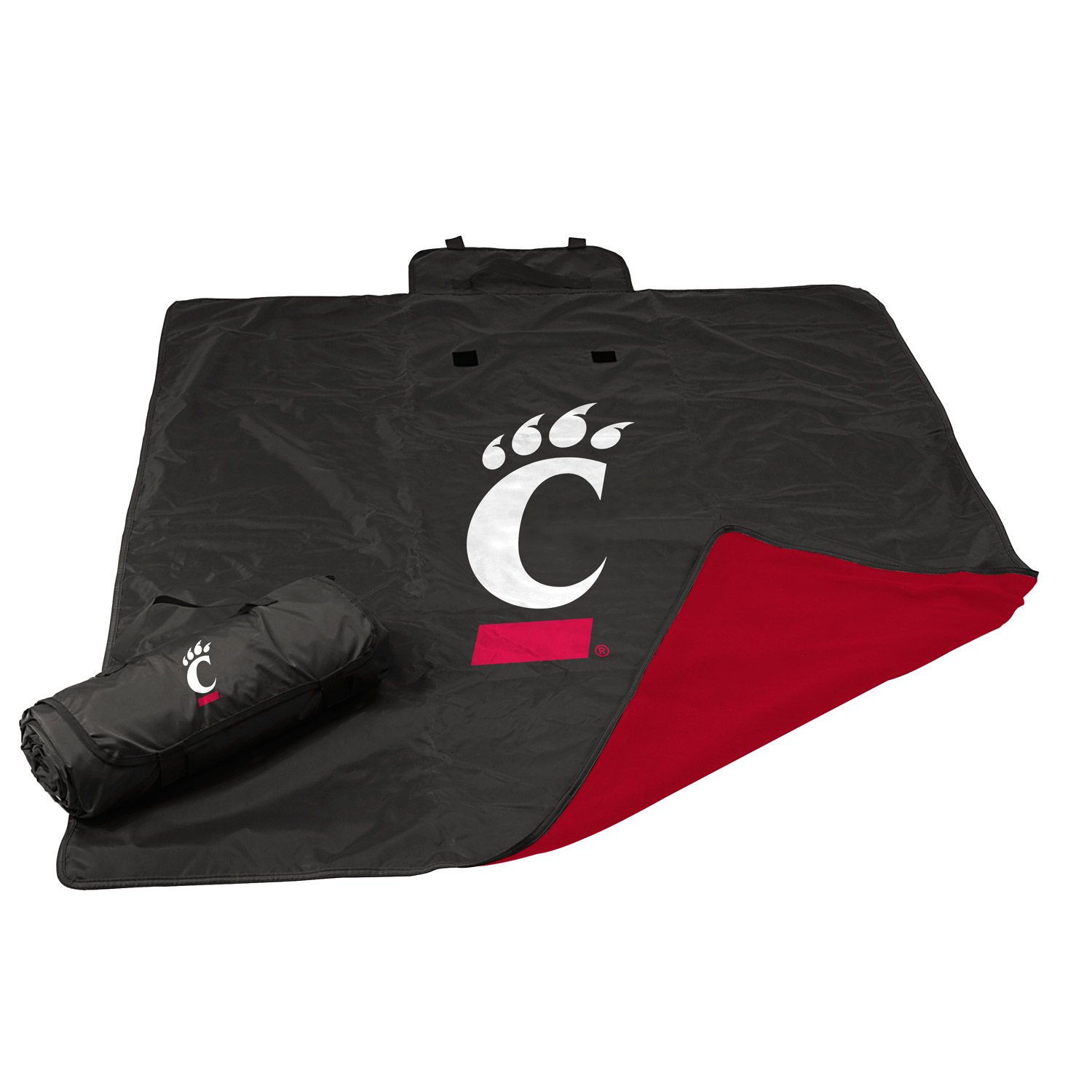"Cincinnati Bearcats Official NCAA 50""x60"" All Weather Blanket by Logo 121732"