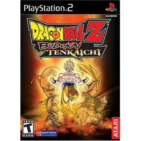 Dragonball Z Budokai Tenkaichi - PlayStation 2 (Dragon Ball Z Budokai Tenkaichi 3 Game)