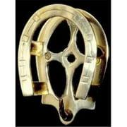 Mayer Mill Brass - SBH-1 - Horseshoe Bridle Hook