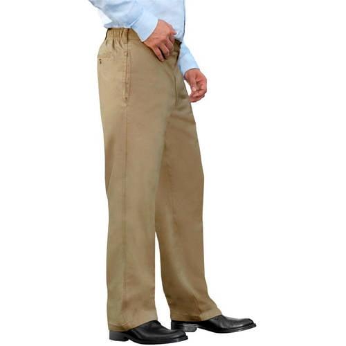 George Big Men's Half Elastic Twill Pant