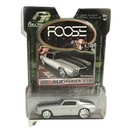 Foose Design 70 Chevy Camaro Silver by JL Full Throttle