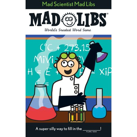 Mad Scientist Mad Libs - Mad Scientist Halloween Party Food