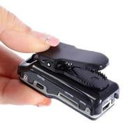 Portable Mini DV Camcorder DVR Video Camera Webcam Support 16GB HD Cam Sports Helmet Bike Motorbike Cam (Black)