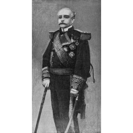 Patricio Montojo Y Pasaron (1839-1917) Nspanish Naval Officer While Commander Of The Spanish Naval Forces In The Philippines During The Spanish-American War Line Engraving American 19Th Century