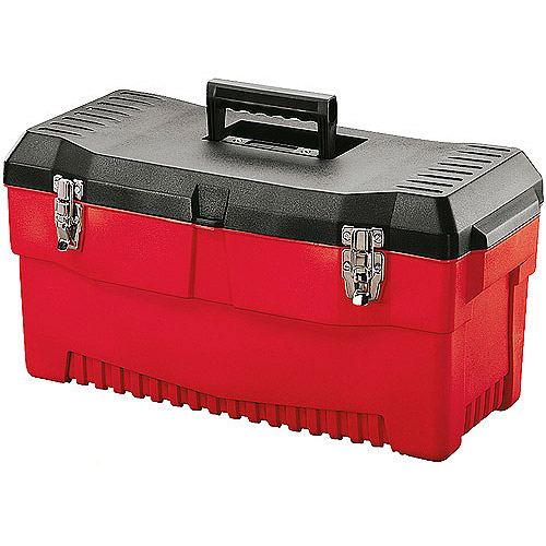 """Stack-On 23"""" Professional Tool Box, Red"""