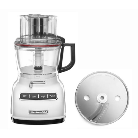 Kitchenaid 9 Cup Wide Mouth Food Processor Rrkfp0930wh Large Exact Slice White Certified
