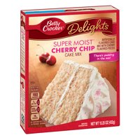 Betty Crocker Super Moist Cherry Chip Cake Mix, 15.25 oz Deals