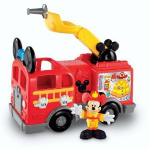 Fisher Price Mickey Mouse Clubhouse Mickey's Fire Truck by Mickey Mouse