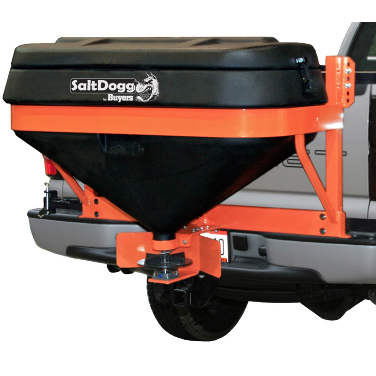 SaltDogg TGS05B Tailgate Hitch Salt Spreader by SALTDOGG