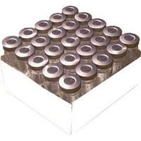 5ml Sterile Injection Vial 25Pk Silver