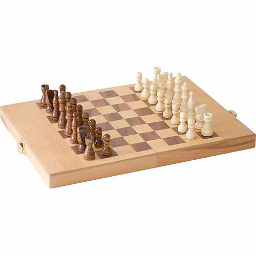 "CHH 11"" Chess and Shut the Box Combo Game"