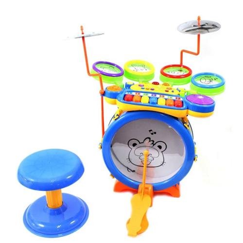 "15"" Toy Drum & Keyboard Play Set for Children (Gift Idea)"
