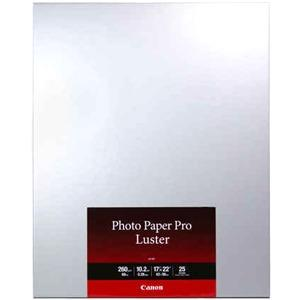 Photo Paper Pro Luster 17  X 22