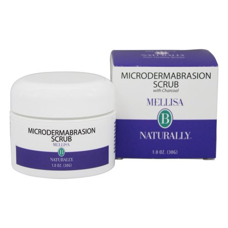 Mellisa B Naturally - Microdermabrasion Scrub with Charcoal - 1