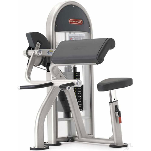 Star Trac Instinct LNL Biceps Curl Bar and Triceps Extension Machine