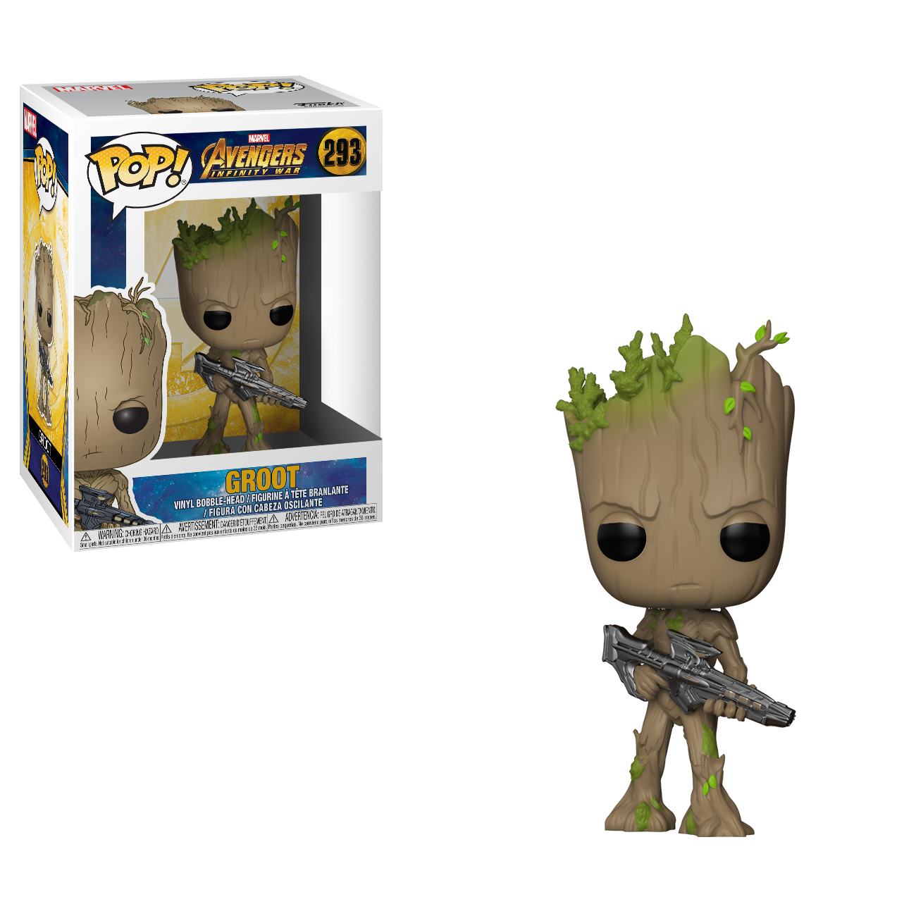 POP! Marvel - Avengers Infinity War - Teen Groot w/Blaster