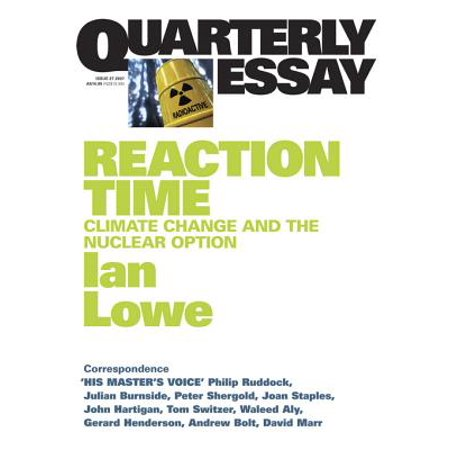 - Quarterly Essay 27 Reaction Time - eBook