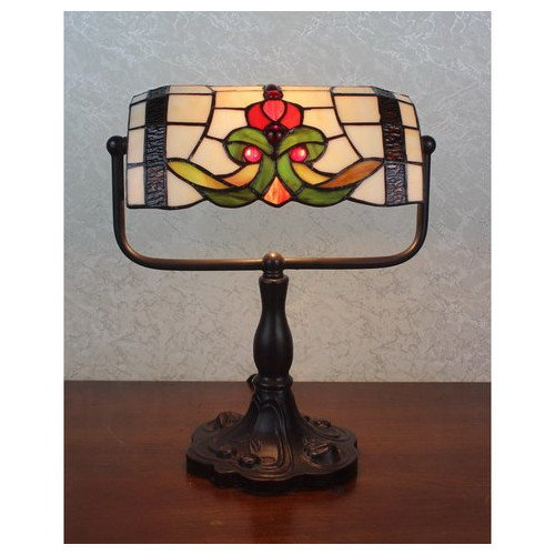 Warehouse of Tiffany BR002DSL Lila Bunker Accent Lamp