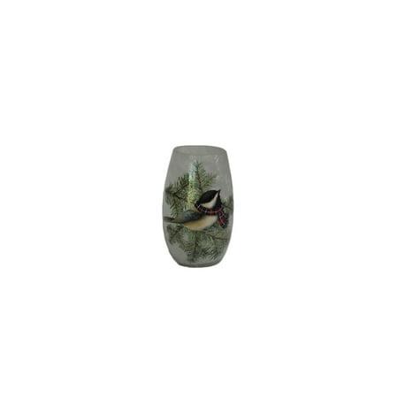 Chickadee Glass - Stony Creek - Frosted Glass - 5