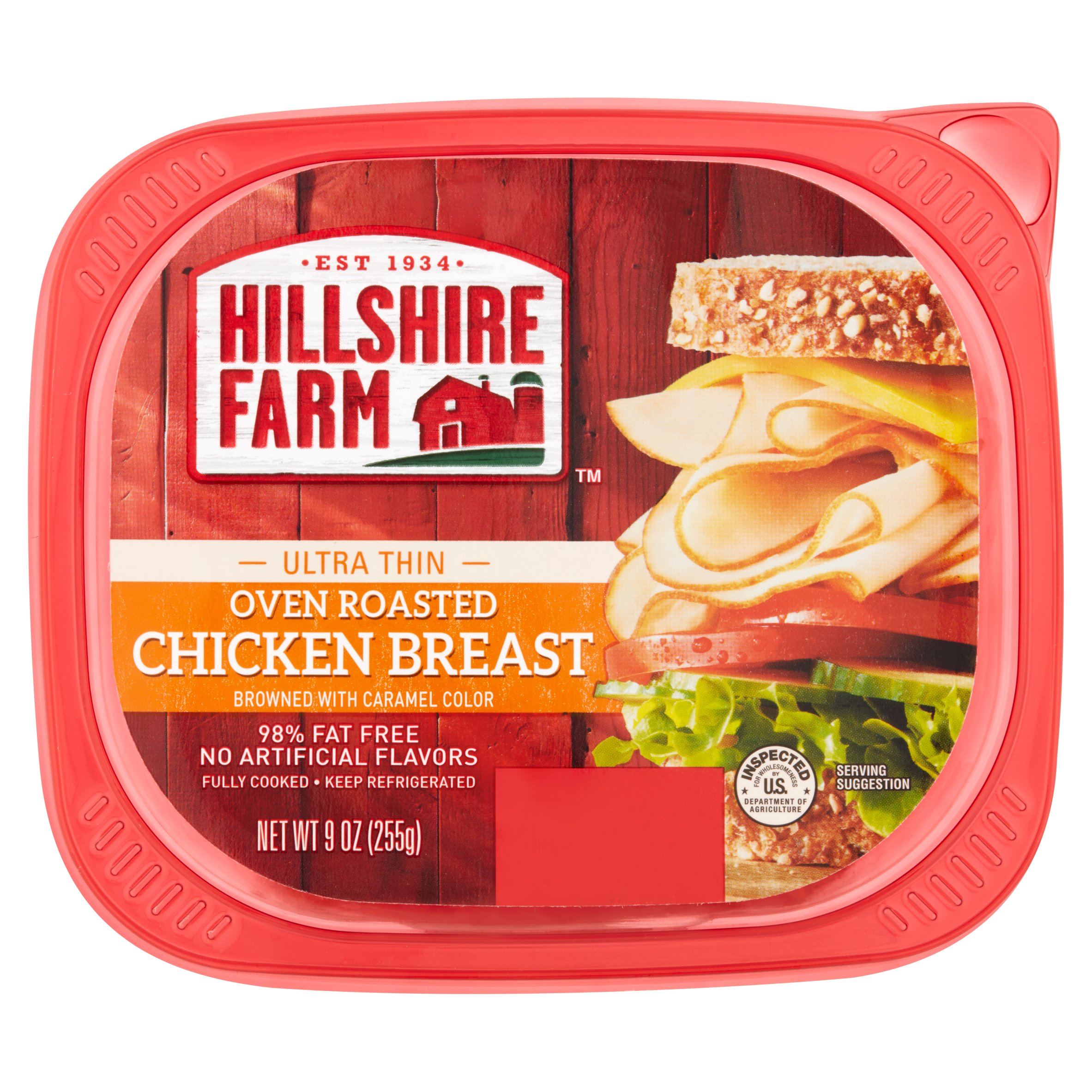 Hillshire Farm Ultra Thin Oven Roasted Chicken Breast, 9 oz