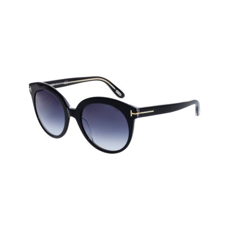 b168737c2bd29 ... UPC 664689717613 product image for Tom Ford Monica TF 429 03W Shiny  Black Crystal Gradient Women s