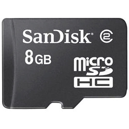 SanDisk 8GB MicroSD High Capacity Card